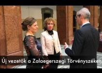 Embedded thumbnail for Új vezetők a Zalaegerszegi Törvényszéken